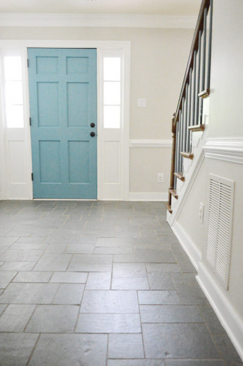 Brown Foyer Paint Colors : Foyer freshness a soft neutral paint color young house love