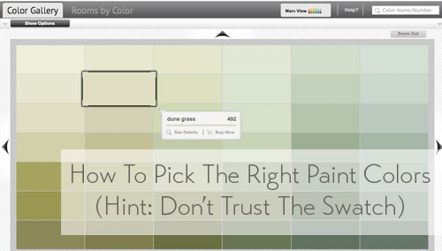Pick This Not That Finding The Right Paint Colors