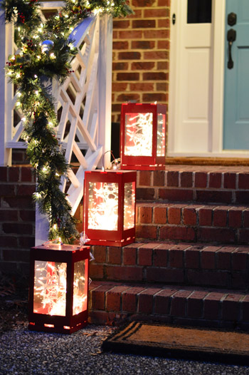 Outdoor Holiday Decorating Amp The Easy Way To Hang Window