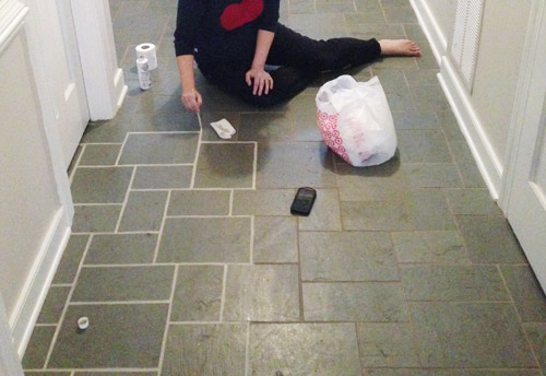 Cleaning Grout In Bathroom Tiles