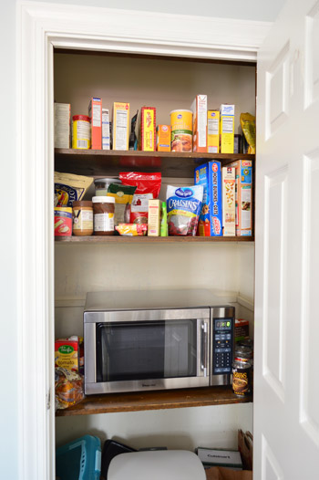 Small Butlers Pantry With Fridge