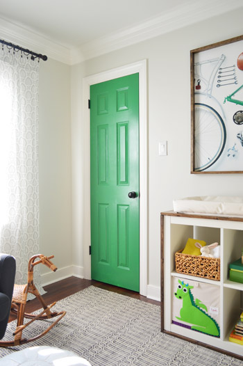 A Colorful Door Amp More Nursery Art Young House Love