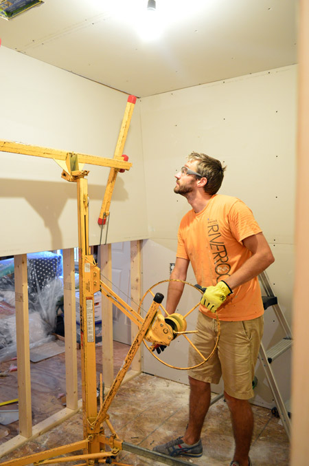 How To Hang Drywall Young House Love