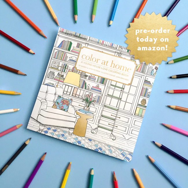 Colorful Book Room: Color At Home, Interior Decor Coloring Book For Adults