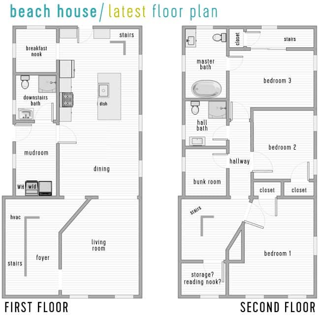 beach house renovation latest floor plan