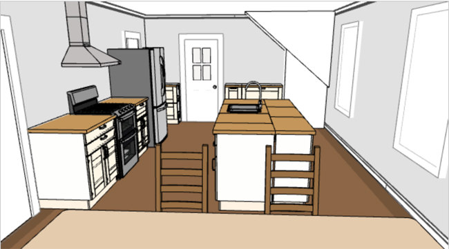 ikea kitchen planning tool 3D rendering