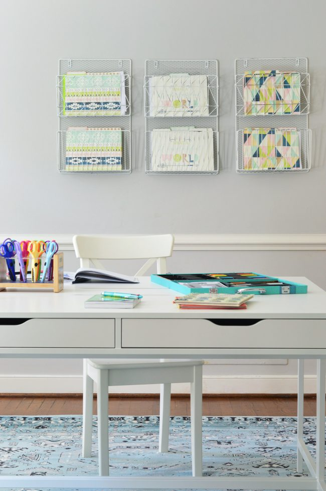 Easy Makeover A Hardworking Homework Room Young