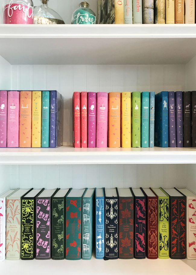kids room ideas colorful bookcase