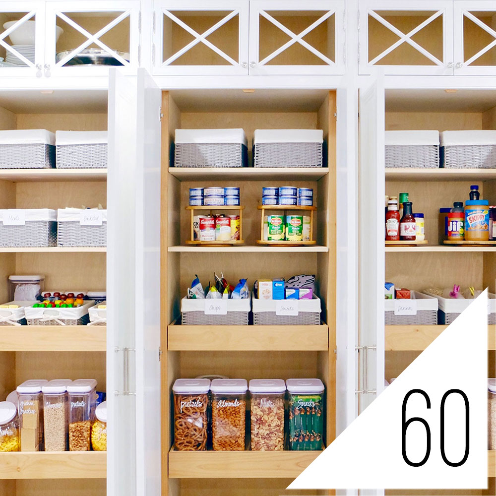 Organized Pantry And Pantry Tips: #60: Game-Changing Organization Tips From The Pros