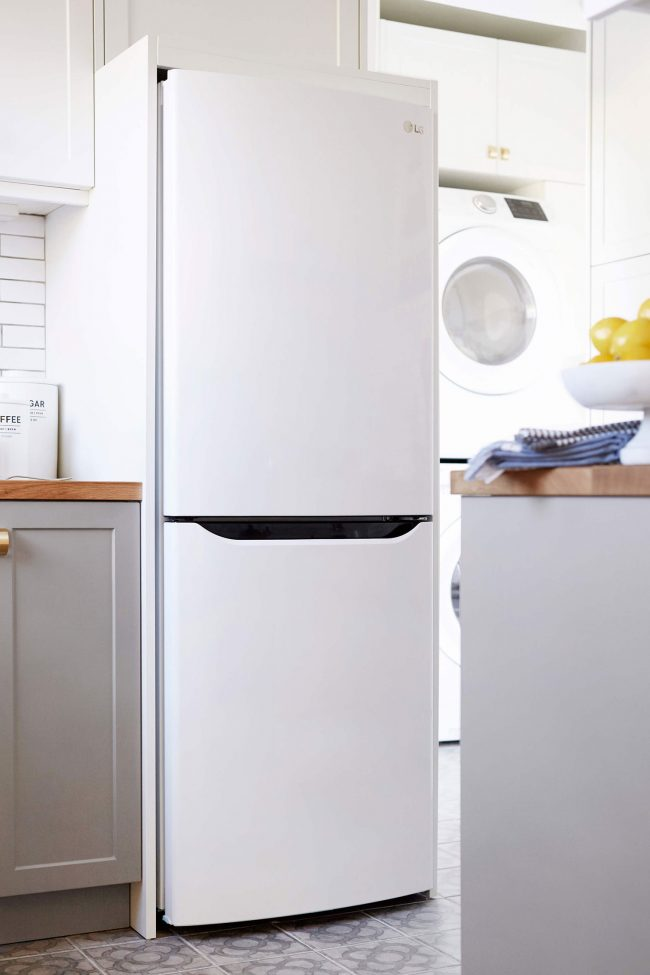 beach house kitchen planning orlando soria small refrigerator inspiration