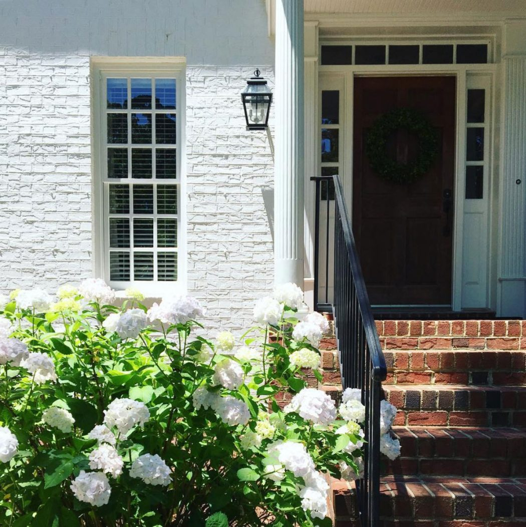 101 should we paint our brick house white young house - Pros and cons of painting exterior brick ...