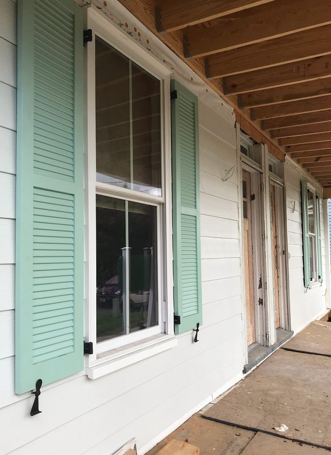 Why Are Shutters So Hard And Other Duplex Exterior