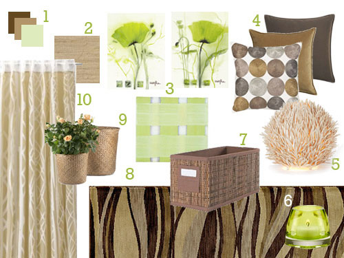 green-brown-spring-summer-living-room-sunroom-before-and-after-mood-board-makeover