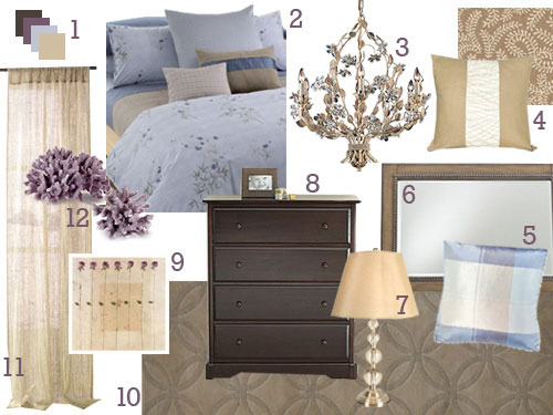 This master bedroom is primed for a mood board makeover - Bedroom colors and moods ...