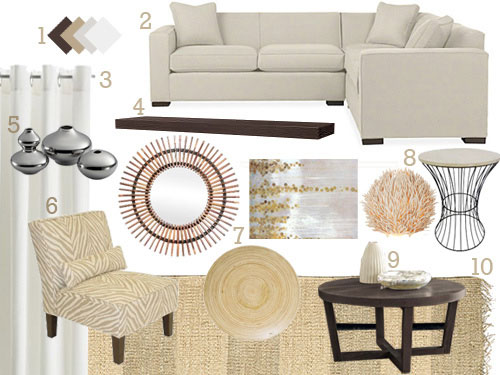 Textured & Neutral Living Room